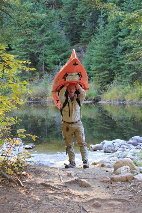bwca kayak portaging ideas boundary waters gear forum