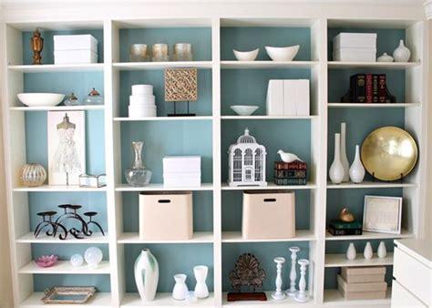 ikea bookcase coloured backing home decor room ideas