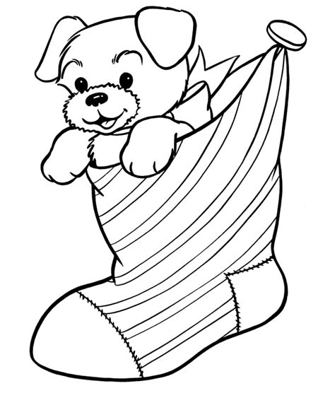 bluebonkers christmas animals coloring pages 5