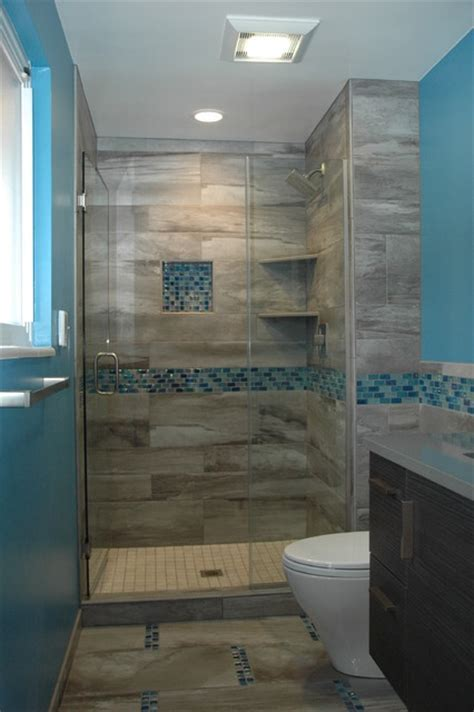 Master Bath Walk in European Shower