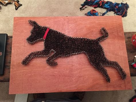 string art pattern generator dog inspired string art is the perfect craft for people