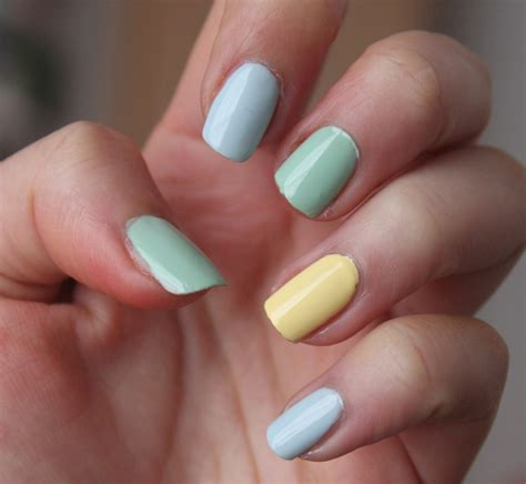 pastel nail colors collection 2017 summer