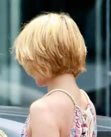 back view of haircuts bob hairstyles back view dark brown hairs