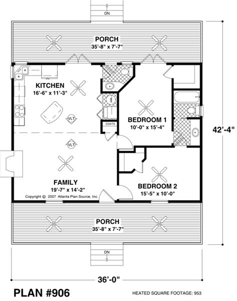 small square house plans small house plan approx 970 sq ft 2br 1 5ba house