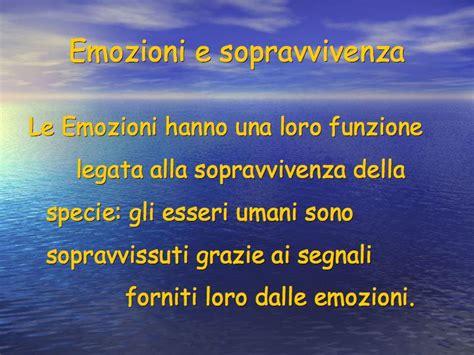 delle emozioni verbi la gestione delle emozioni