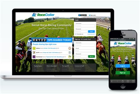 a portfolio to achieve success at the races books racecaller website design haus of west
