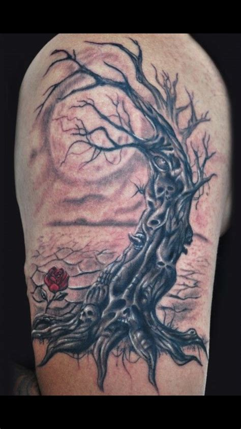 dead tree tattoo meaning pin by bradford on ideas