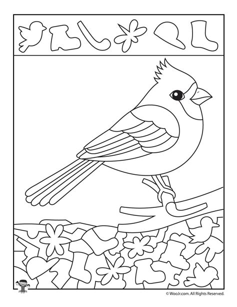 cardinal coloring pages preschool cardinal bird preschool worksheet cardinal best free