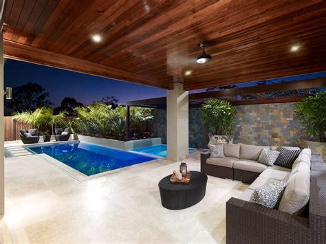 Outdoor Lighting Brisbane Pergolas Brisbane Pool Contemporary With Pool 50k Up To 100k Modern Pool Www