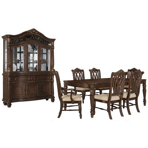 City Furniture Dining Room City Furniture Tradewinds Tone Rectangular Dining Room