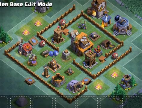 layout coc 4 top 18 best builder hall 4 base new update 2000