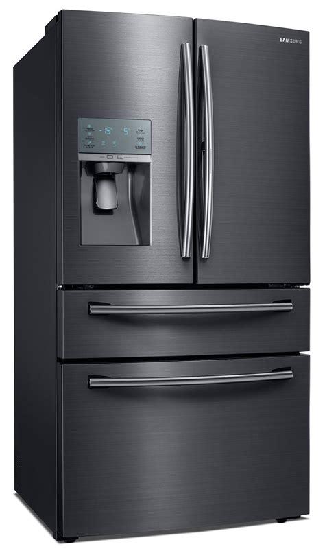 Samsung Appliances Samsung 27 8 Cu Ft Door Refrigerator Black Stainless Steel Rf28jbedbsg Aa The Brick