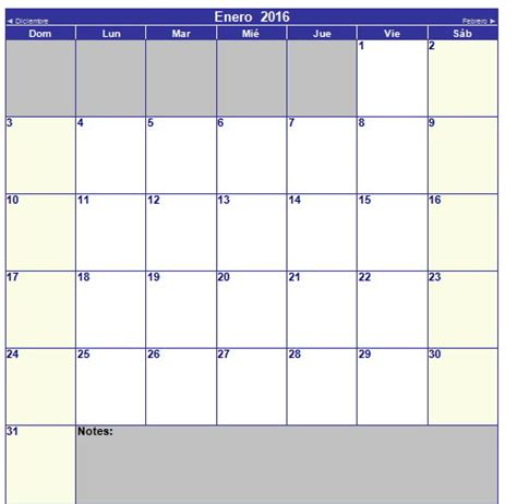 calendario por meses 2016 gratis calendario por meses 2016 gratis lo nuevo de hoy