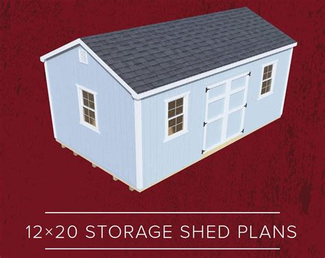 20 By 12 Shed by Diy 12x20 Shed Plans Build The Byler Shed Byler Barns