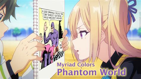 myriad colors anime review rating rossmaning myriad colors phantom world