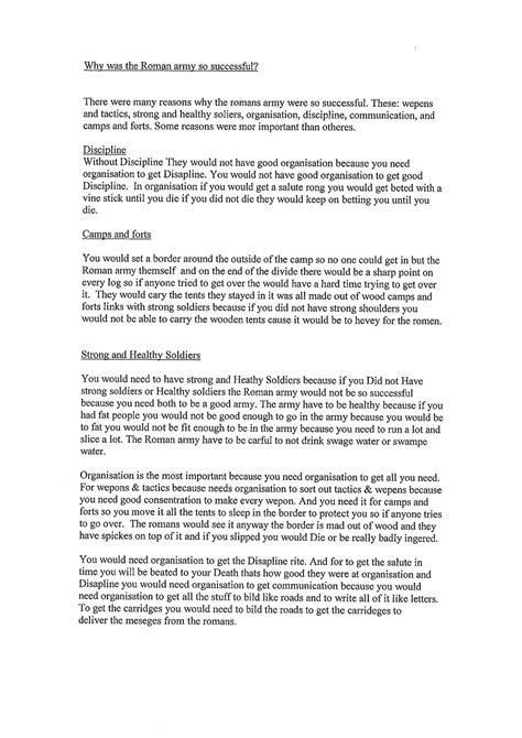 History Essays by History Exemplification Standards File Level 3 History Standards Files Exemplification For