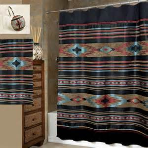 southwestern shower curtain santa fe southwest shower curtain by veratex