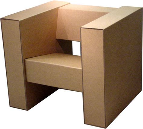 How To Make A Chair Out Of Cardboard by Kevin Marcato Cad Cardboard Chair Design