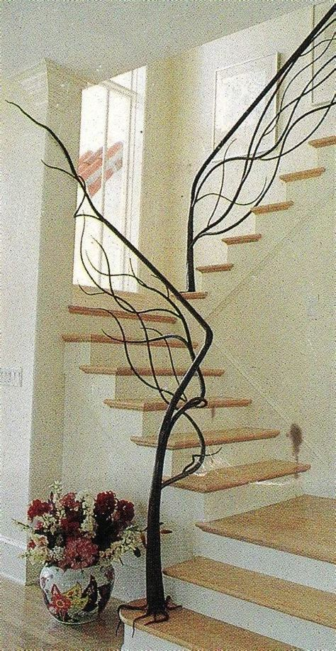 tree branch stair railing favorite home decor pinterest