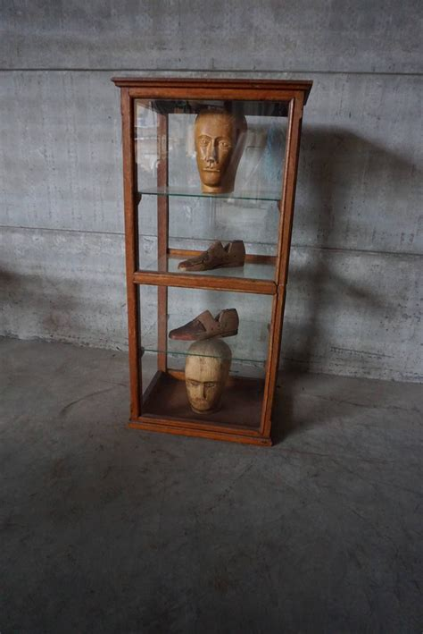 Antique English Display Case For Sale at 1stdibs