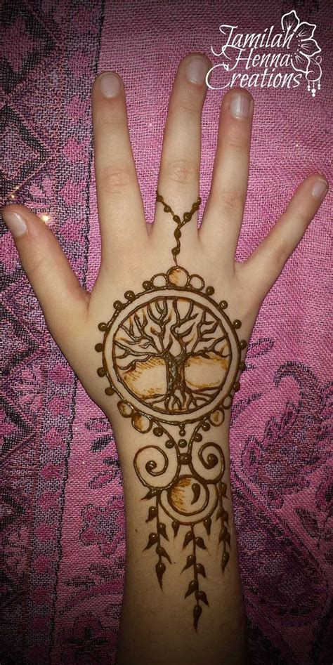tree henna tattoos tree of henna jewelry www jamilahhennacreations