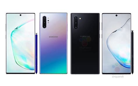 Samsung Galaxy Note 10 by Galaxy Note 10 Will Be Powered By New Exynos Same Snapdragon Soc Android Community