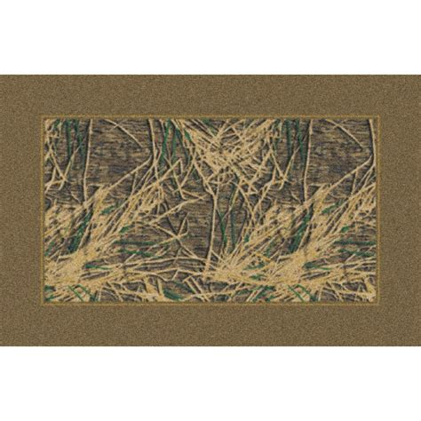 Camo Area Rug Marshall 3x4 Mossy Oak 174 Shadow Grass 174 Camo Border Area Rug 131651 Rugs At Sportsman S Guide