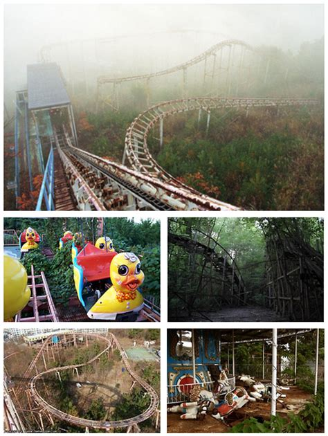 okpo land south koreas abandoned amusement park 12 pics okpo land okpo city south korea the park was shut down