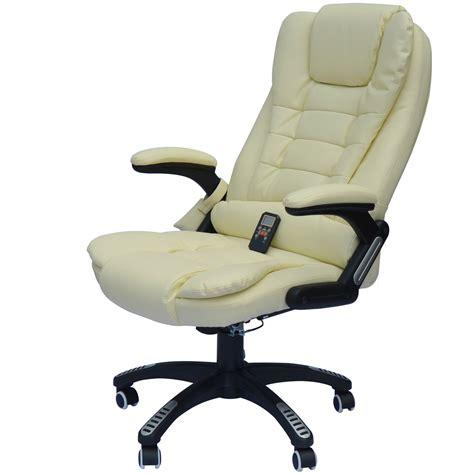 heated armchair homcom homcom faux leather heated massage chair reviews wayfair