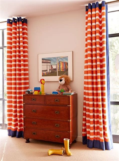 navy and orange curtains pinterest the world s catalog of ideas
