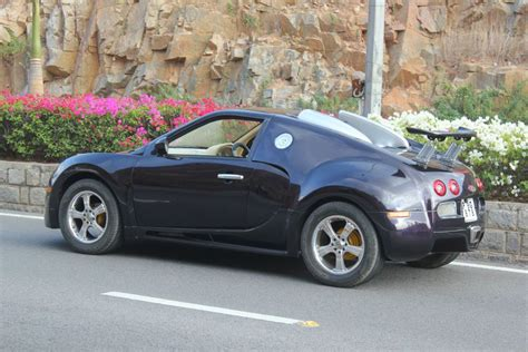 modified bugatti maruti suzuki esteem converted into a bugatti veyron