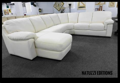 natuzzi white leather sofa natuzzi editions by interior concepts furniture