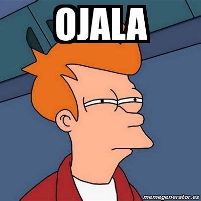 Fry From Futurama Meme - meme futurama fry ojala 18334306