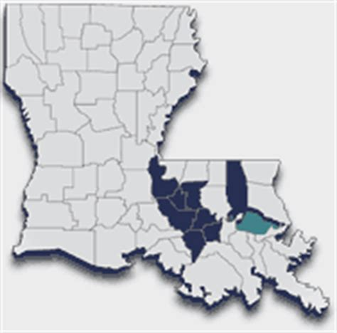 louisiana diocese map schools locations diocese of baton catholic
