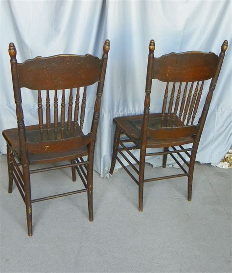 Pressed Back Chairs by Bargain S Antiques 187 Archive Antique Set Of Four