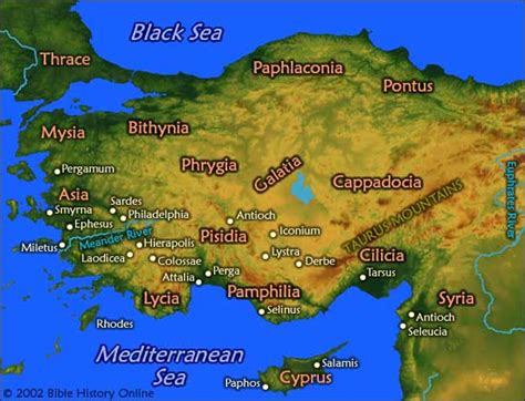 middle east map new testament biblical times map of new testament asia century