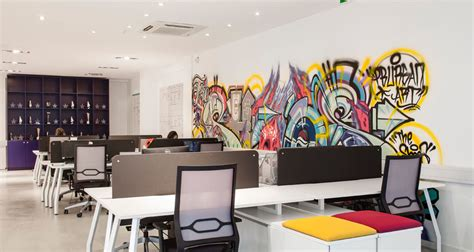 creative office space ideas employing striking details to shape a creative office