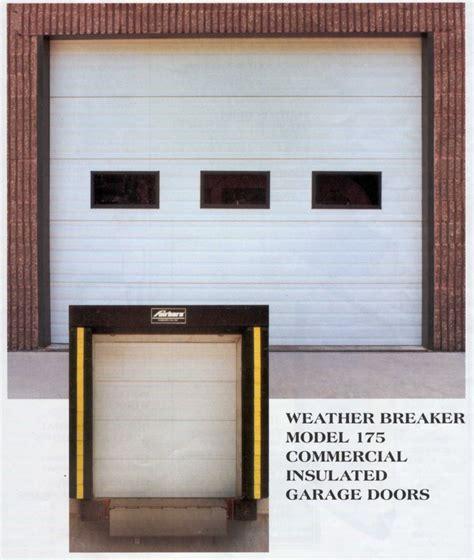 airtight garage door commercial garage doors american excellence l l c garage