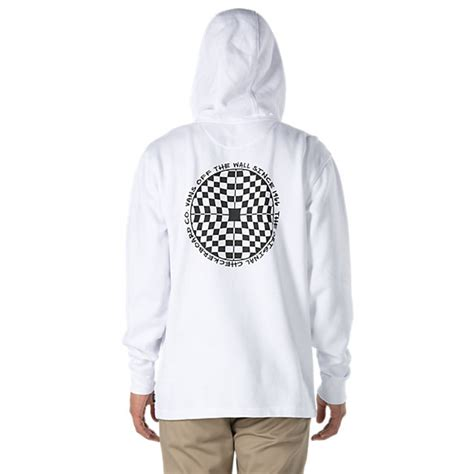 Sweter Vans 1 checkered 1 4 zip pullover shop mens sweatshirts at vans