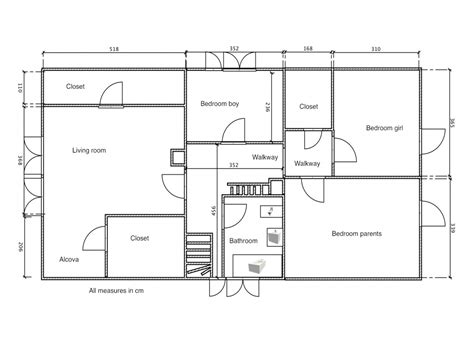 floor plans with measurements architectural floor plans architectural floor plans with