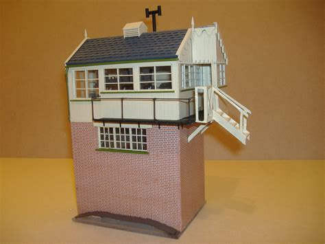 kenley signal box is an entrant for shed of the year 2012 evercreech south signalbox g r penzer o gauge model
