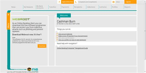 fnb business plan template fnb