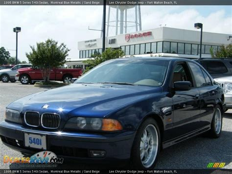 1998 bmw 540i 1998 bmw 5 series 540i sedan montreal blue metallic sand