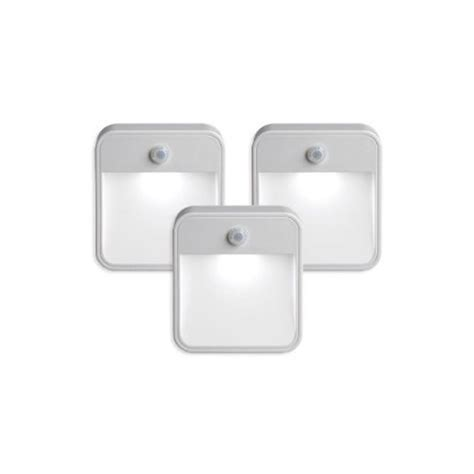 bathroom sensor lights unique lighting motion sensor led light 3 pack uk