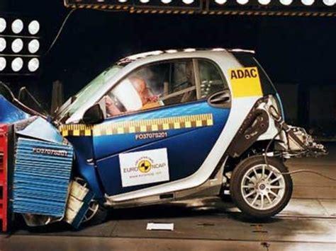 smart crash test smart fortwo bekommt 4 sterne im crashtest auto motor