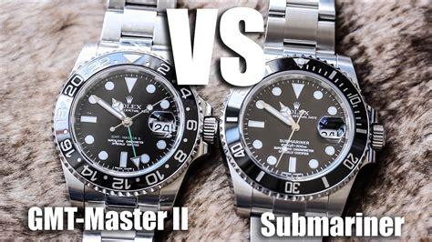 Rolex Submarine 2 rolex submariner vs rolex gmt master ii