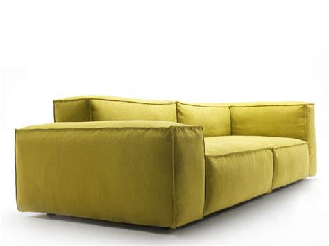 piero lissoni for living divani back to back metrocubo sectional sofa with removable cover neowall by living
