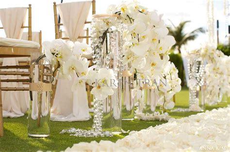 Wedding Aisle White by The Four Seasons Resort Wedding