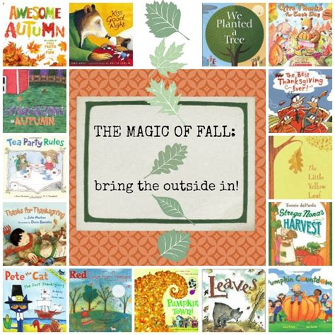 the outside consultant books the magic of fall bring the outside in by beth
