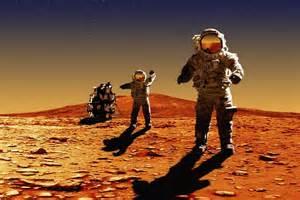 Astronauts on mars bxp31687h